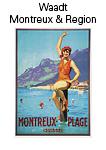 Kanton Waadt Montreux und Region
