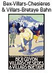 Kanton Waadt Bex-Gryon-Villars-Chèsieres und Villars-Bretaye Bahn