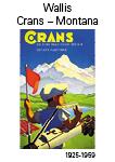 Kanton Wallis Crans-Montana 1925-1959