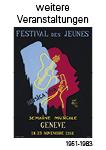 Kanton Genf weitere Veranstaltungen 1951-1983
